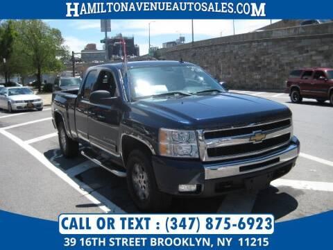 2011 Chevrolet Silverado 1500 for sale at Hamilton Avenue Auto Sales in Brooklyn NY