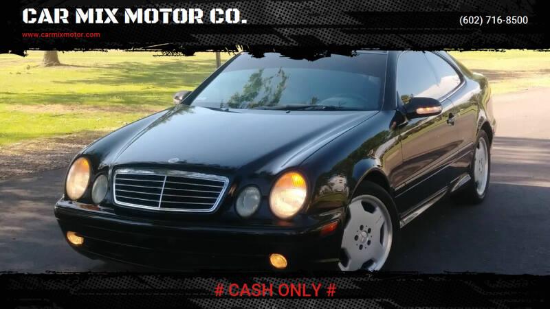 2000 Mercedes-Benz CLK for sale at CAR MIX MOTOR CO. in Phoenix AZ
