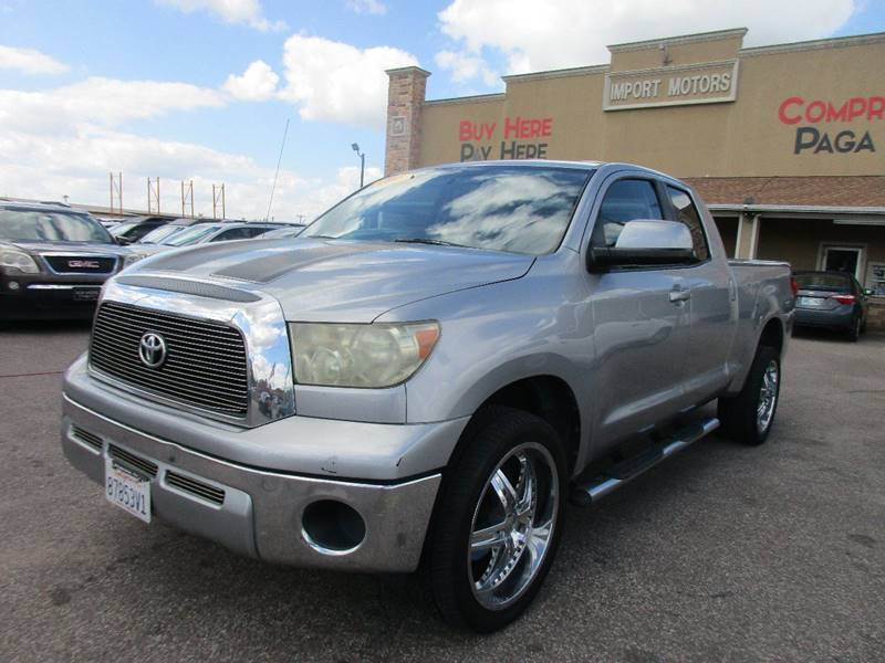 2008 Toyota Tundra for sale at Import Motors in Bethany OK