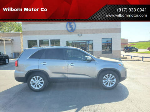 2014 Kia Sorento for sale at Wilborn Motor Co in Fort Worth TX