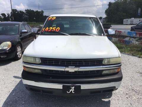 1999 Chevrolet Silverado 1500 for sale at K & E Auto Sales in Ardmore AL