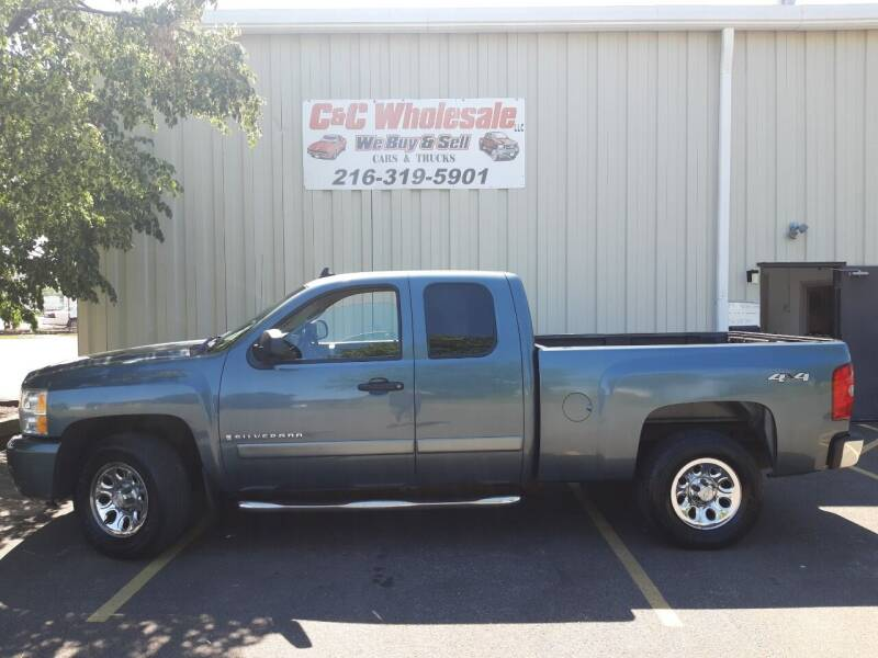 2008 Chevrolet Silverado 1500 for sale at C & C Wholesale in Cleveland OH