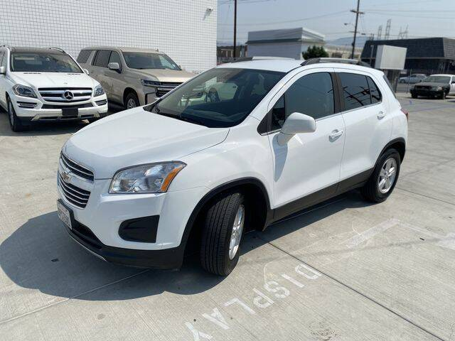 2016 Chevrolet Trax for sale at Hunter's Auto Inc in North Hollywood CA