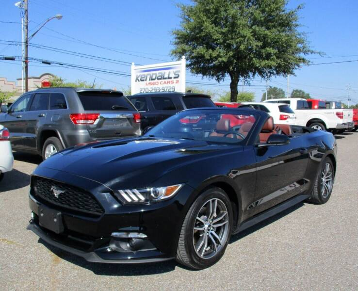 2017 Ford Mustang for sale at Kendall's Used Cars 2 in Murray KY