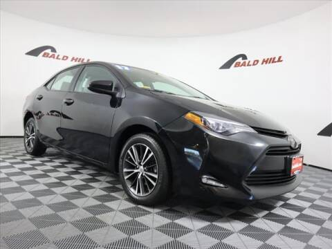 2017 Toyota Corolla for sale at Bald Hill Kia in Warwick RI