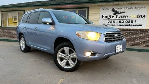 2008 Toyota Highlander for sale at Eagle Care Autos in Mcpherson KS