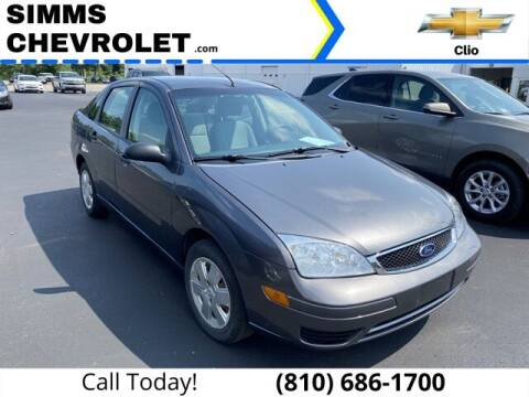 2007 Ford Focus for sale at Aaron Adams @ Simms Chevrolet in Clio MI