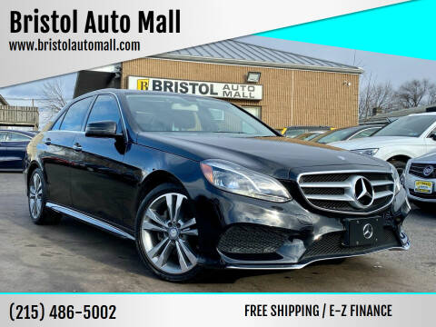 2014 Mercedes-Benz E-Class for sale at Bristol Auto Mall in Levittown PA