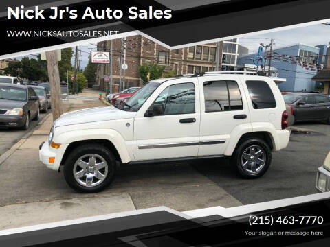2007 Jeep Liberty for sale at Nick Jr's Auto Sales in Philadelphia PA