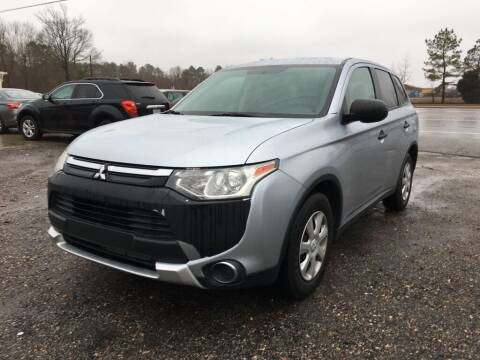 2015 Mitsubishi Outlander for sale at Complete Auto Credit in Moyock NC