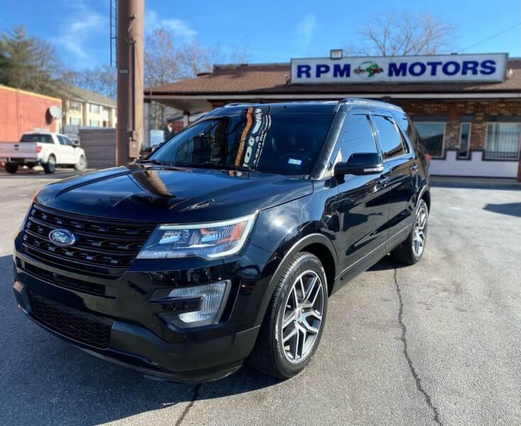 2017 Ford Explorer for sale at RPM Motors in Nashville TN