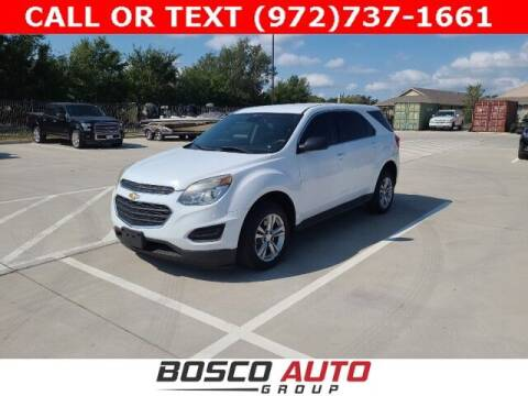 2016 Chevrolet Equinox for sale at Bosco Auto Group in Flower Mound TX