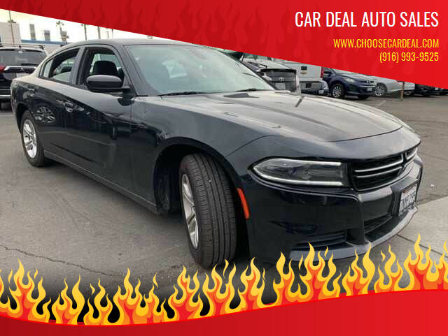 2015 Dodge Charger for sale at Car Deal Auto Sales in Sacramento CA