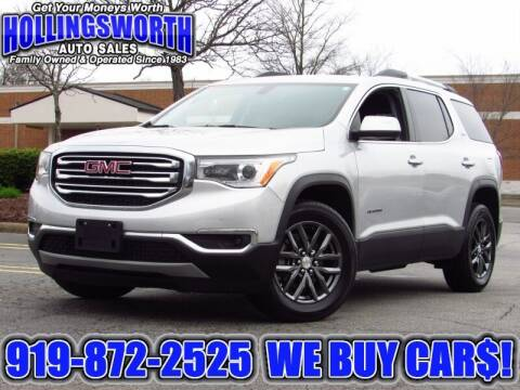 2017 GMC Acadia for sale at Hollingsworth Auto Sales in Raleigh NC