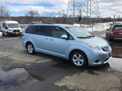2016 Toyota Sienna for sale at Deals on Wheels in Nanuet NY