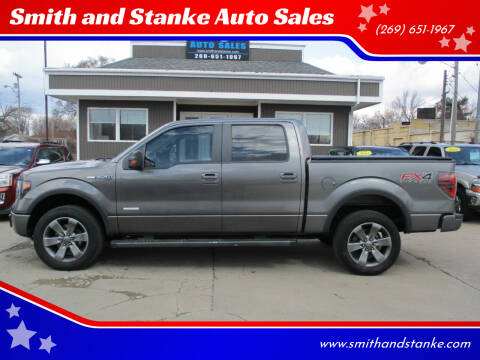 2013 Ford F-150 for sale at Smith and Stanke Auto Sales in Sturgis MI