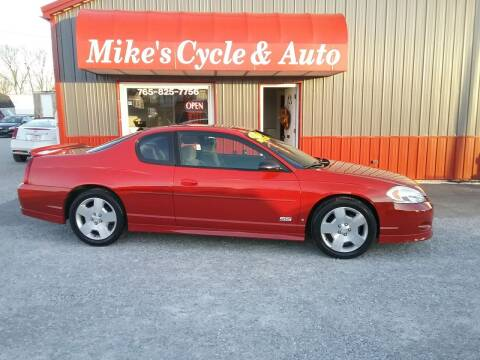 2007 Chevrolet Monte Carlo for sale at MIKE'S CYCLE & AUTO in Connersville IN