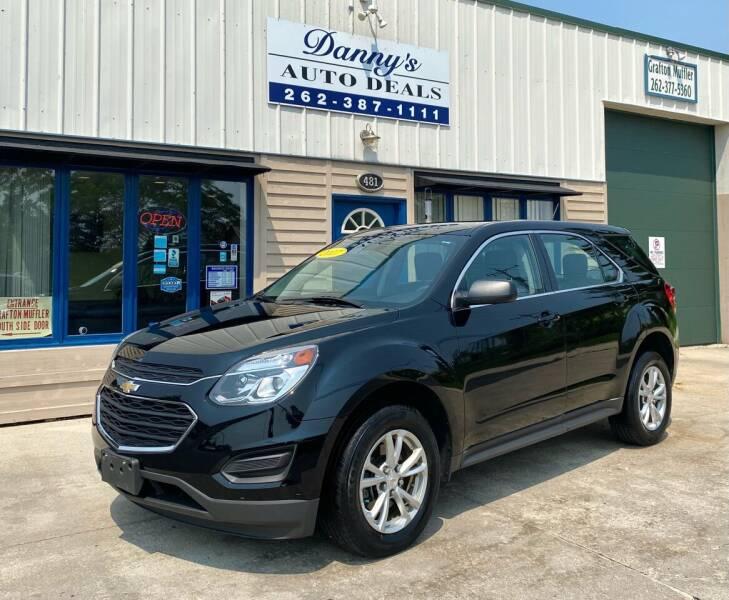 2017 Chevrolet Equinox for sale at Danny's Auto Deals in Grafton WI