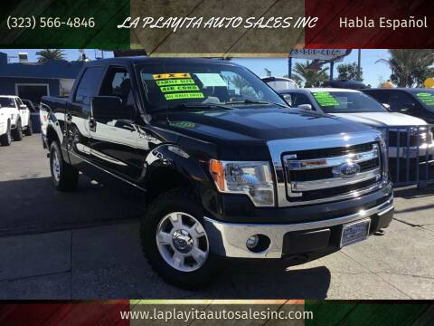 2013 Ford F-150 for sale at LA PLAYITA AUTO SALES INC in South Gate CA