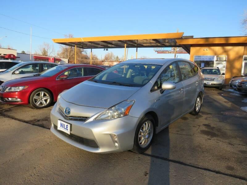 2013 Toyota Prius v for sale at Nile Auto Sales in Denver CO
