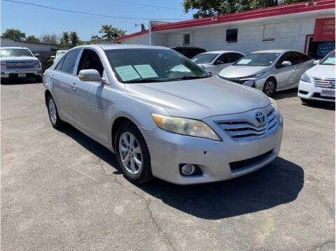 2010 Toyota Camry for sale at Dealers Choice Inc in Farmersville CA