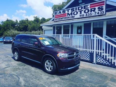 2012 Dodge Durango for sale at EASTSIDE MOTORS in Tulsa OK