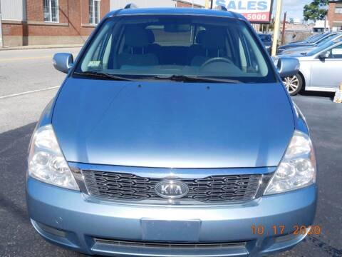 2012 Kia Sedona for sale at Southbridge Street Auto Sales in Worcester MA