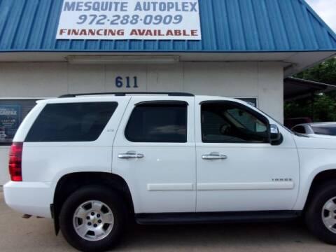 2008 Chevrolet Tahoe for sale at MESQUITE AUTOPLEX in Mesquite TX