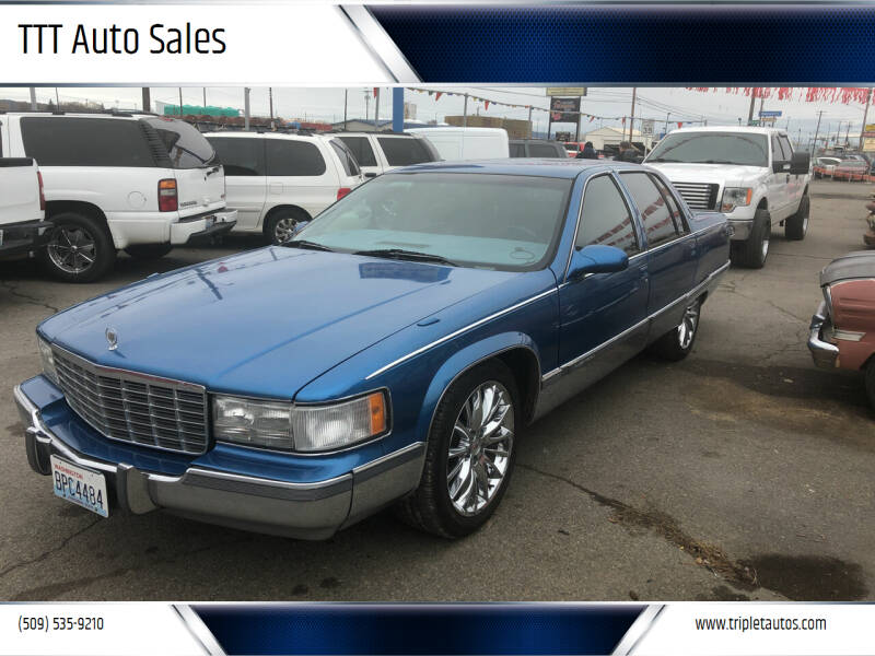 1996 Cadillac Fleetwood for sale at TTT Auto Sales in Spokane WA