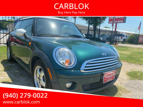 2007 MINI Cooper for sale at CARBLOK in Lewisville TX
