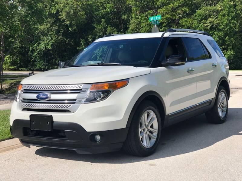 2011 Ford Explorer for sale at L G AUTO SALES in Boynton Beach FL