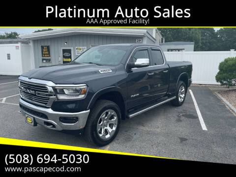 2019 RAM Ram Pickup 1500 for sale at Platinum Auto Sales in South Yarmouth MA