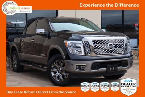 2019 Nissan Titan for sale at Dallas Auto Finance in Dallas TX