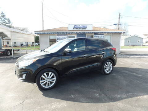 2012 Hyundai Tucson for sale at DeLong Auto Group in Tipton IN