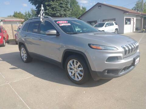 2014 Jeep Cherokee for sale at Triangle Auto Sales 2 in Omaha NE