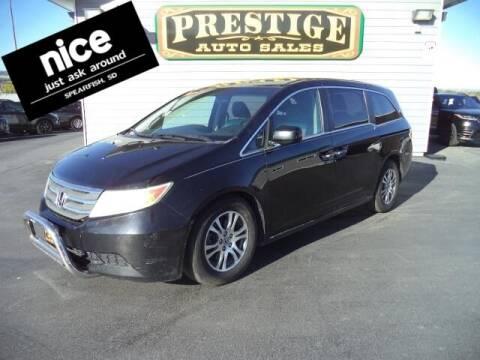 2012 Honda Odyssey for sale at PRESTIGE AUTO SALES in Spearfish SD