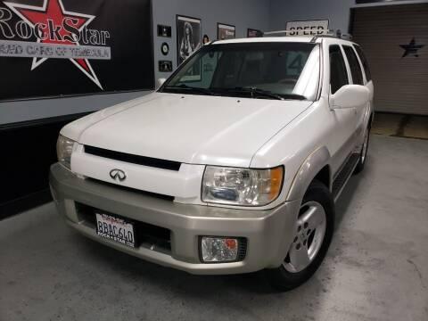 2001 Infiniti QX4 for sale at ROCKSTAR USED CARS OF TEMECULA in Temecula CA