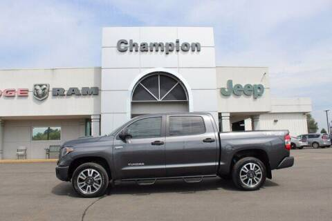 2019 Toyota Tundra for sale at Champion Chevrolet in Athens AL