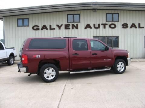 2013 Chevrolet Silverado 1500 for sale at Galyen Auto Sales in Atkinson NE