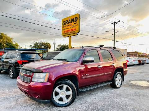 2008 Chevrolet Tahoe for sale at Grand Auto Sales in Tampa FL