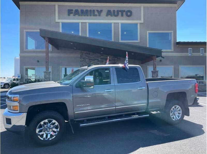 2017 Chevrolet Silverado 2500HD for sale at Moses Lake Family Auto Center in Moses Lake WA