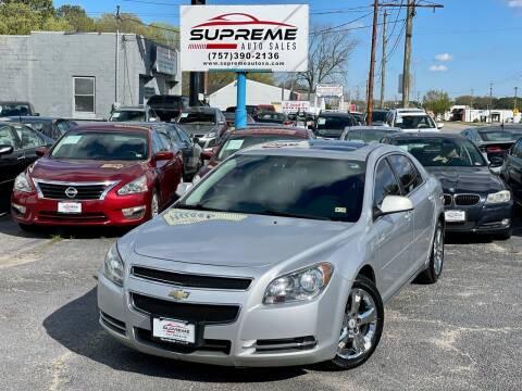 2011 Chevrolet Malibu for sale at Supreme Auto Sales in Chesapeake VA