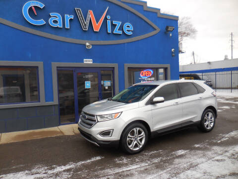 2017 Ford Edge for sale at Carwize in Detroit MI