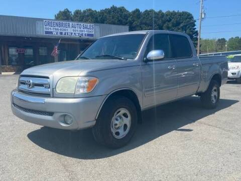 2006 Toyota Tundra for sale at Greenbrier Auto Sales in Greenbrier AR