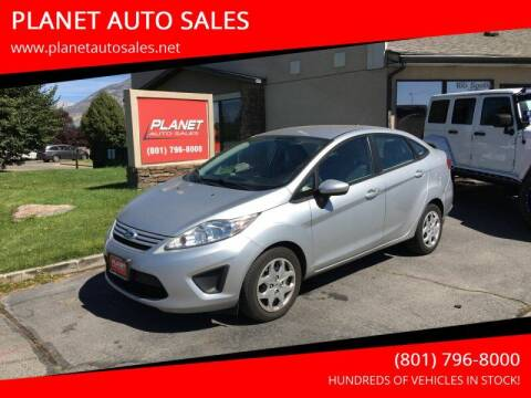 2012 Ford Fiesta for sale at PLANET AUTO SALES in Lindon UT