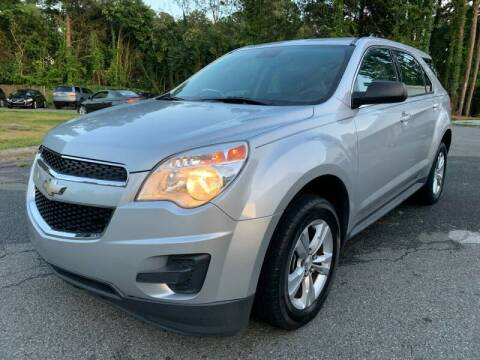 2013 Chevrolet Equinox for sale at Triangle Motors Inc in Raleigh NC