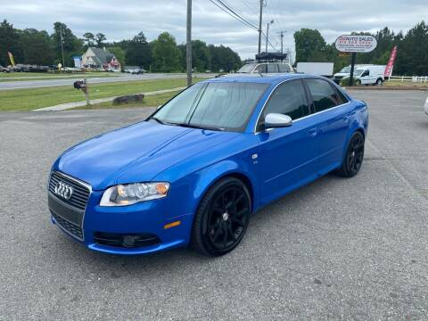 2007 Audi S4 for sale at CVC AUTO SALES in Durham NC