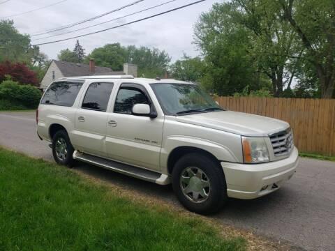2004 Cadillac Escalade ESV for sale at REM Motors in Columbus OH