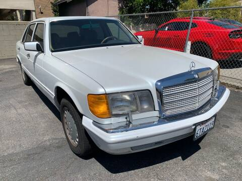 1988 Mercedes-Benz 560-Class for sale at Car Lanes LA in Glendale CA