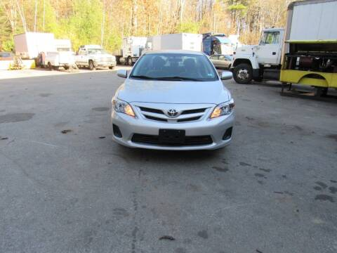 2012 Toyota Corolla for sale at Heritage Truck and Auto Inc. in Londonderry NH